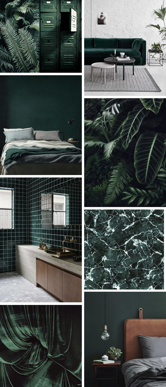 En trendy farve - Mørkegrøn