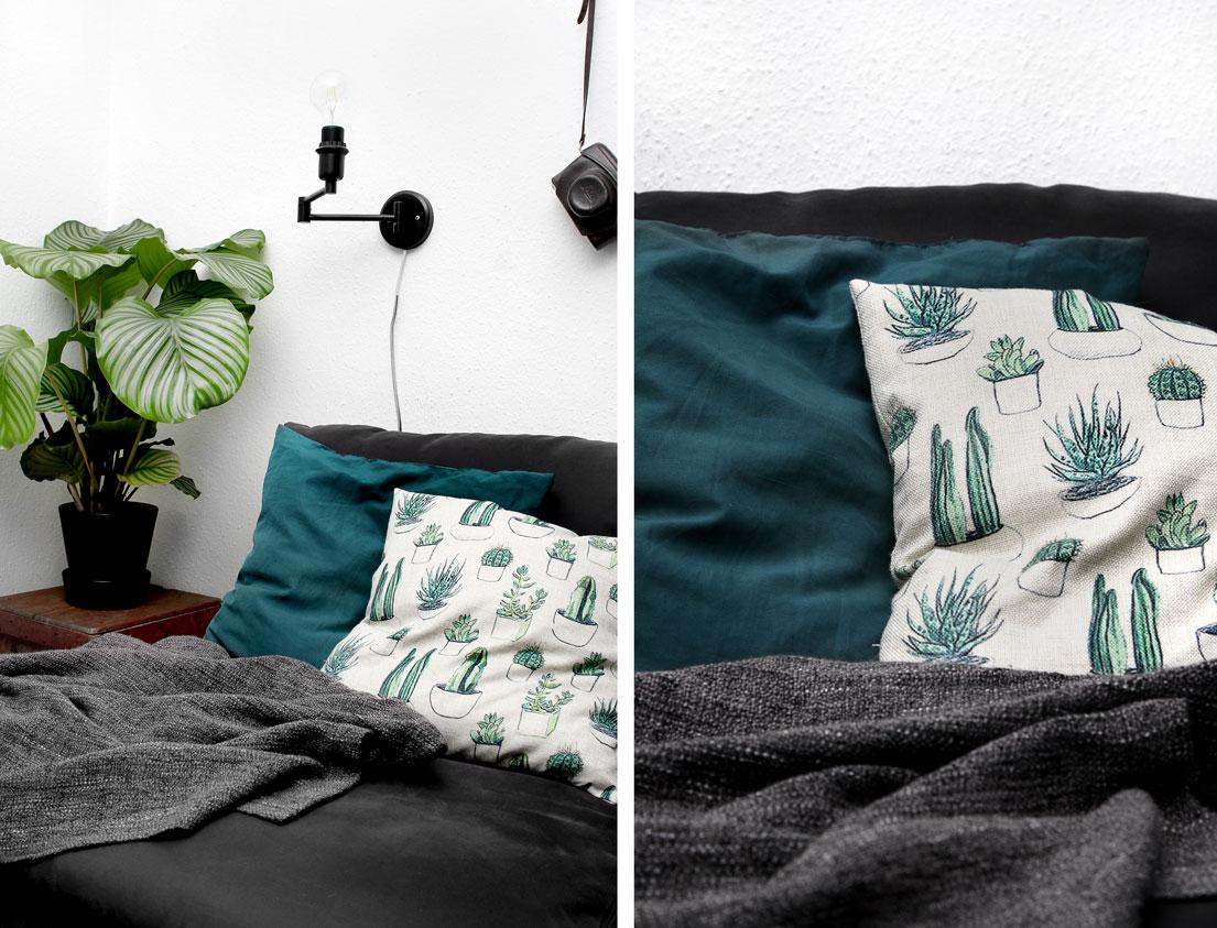 Kaktus pudebetræk | Katarina Natalie