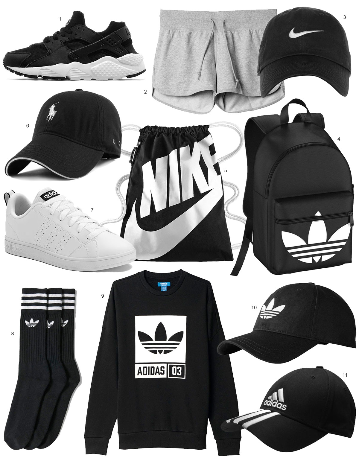 11 sporty eBay items // Katarina Natalie